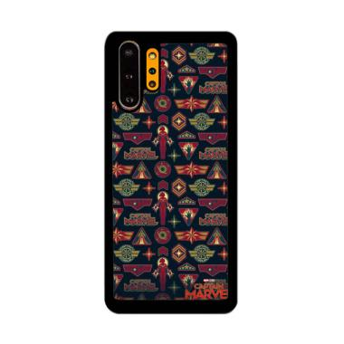 Cannon Case Captain Marvel Doodle P1208 Custom Hardcase Casing for Samsung Galaxy Note 10 Plus
