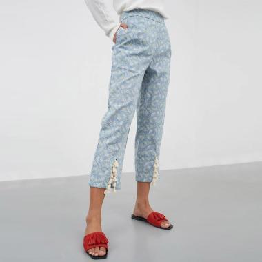 Berrybenka Kate Tassel Pants Wanita - Mint