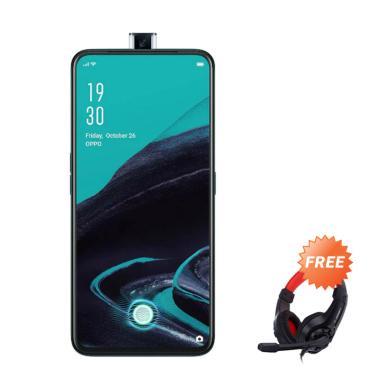 harga OPPO Reno 2F Smartphone [128GB/ 8GB] + Free Headphone Blibli.com