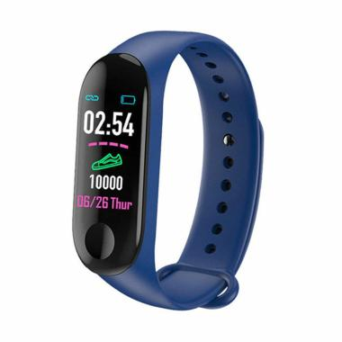 IIT M3 Smart Bracelet Color-Screen IP68 Fitness Tracker Blood Pressure Heart Rate Monitor Smart Watch