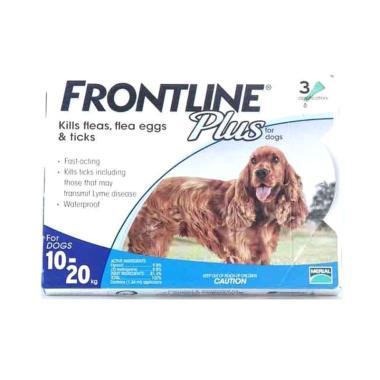 harga Obat Anjing / Frontline Plus Dogs 10 - 20kg - Blibli.com
