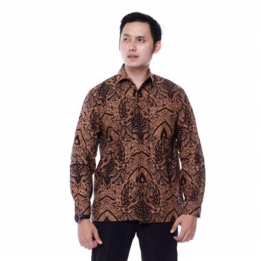 harga kemeja batik pria  motif kraton-batik KM Blibli.com