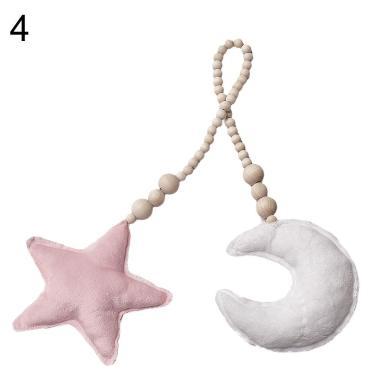 harga Bluelans Plush Star Pillow Beads Rope Hanging Baby Room Crib Decor Photograph Props Blibli.com