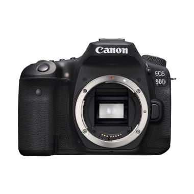 harga Canon EOS 90D DSLR Camera [Body Only] BLACK Blibli.com