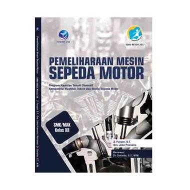 harga Penerbit Andi Pemeliharaan Mesin Sepeda Motor SMK Kelas XII Buku Edukasi Blibli.com