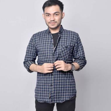 harga Bsg_Fashion1 Premium Casual Flanel Kemeja Lengan Panjang Pria [6322] Blibli.com