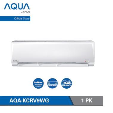 harga Aqua Japan AQA-KCRV9WG Inverter AC Split - White [1 PK] Blibli.com