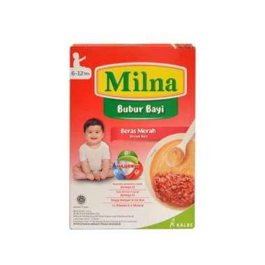 harga Milna Bubur Bayi 6-12 Bulan Rasa Beras Merah 120gram Blibli.com
