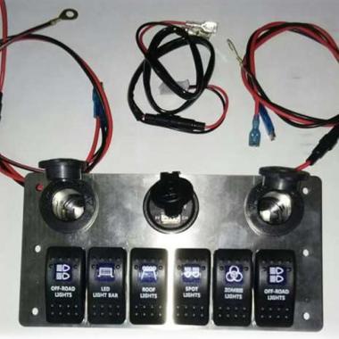 harga Keren Motor Jeep Panel Saklar Lampu Offroad Universal Blibli.com