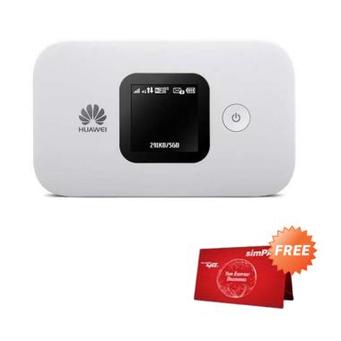 harga Huawei E5577 MIFI 4G LTE Telkomsel 14GB 60Hari Versi Bypass - White Blibli.com
