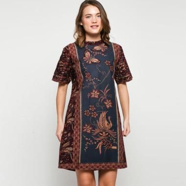 Andelly Batik 02 13 Dress Panjang Wanita - Brown