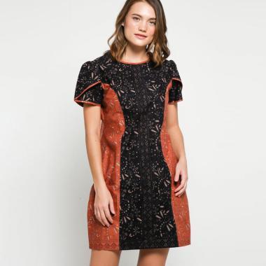 Andelly Batik 02 18 Dress Batik Wanita