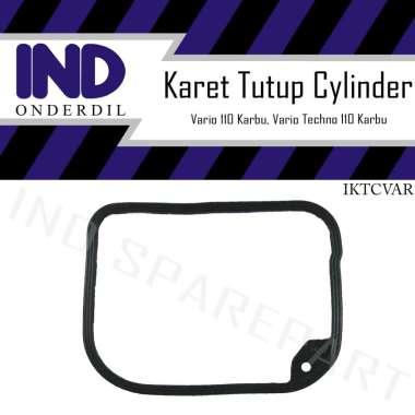 harga IND Onderdil Seal Karet Tutup Cylinder Gasket Cop Head Motor for Vario 110/ Techno Karbu CBS HItam Blibli.com