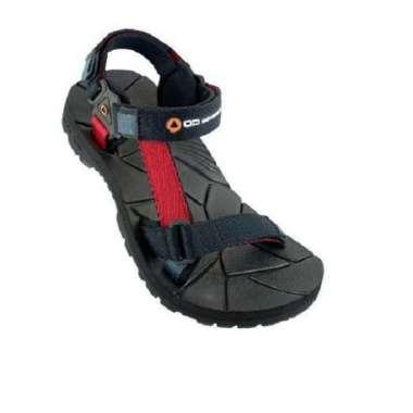 harga Sendal Outdoor Adventure COLOSEUM JR Junior Kids Sepatu Sendal Gunung Anak 34 Black Red Blibli.com