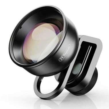 harga APEXEL Lensa Kamera Smartphone Universal Clip 2X Telephoto Lens - HD5T - Hitam Blibli.com