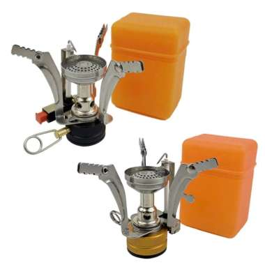 harga Portable Camping Gas Stove Outdoor Backpacking Cook Split Burner 2Pcs - Blibli.com