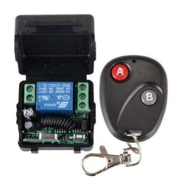 harga Universal Wireless Transmitter Receiver Remote Control Pagar Garasi Blibli.com