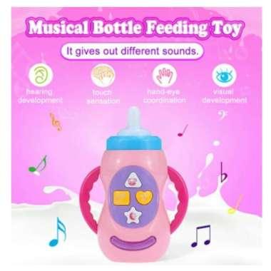 harga Mainan Bayi Botol Susu Dengan Musik dan Lampu / Feeding Bottle Blibli.com