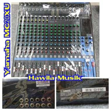 harga Mixer YAMAHA MG-20XU MG 20XU MG20XU MG20 XU MG 20 XU ORIGINAL Mixing Console YAMAHA MG20XU ORIGINAL Garansi Resmi Blibli.com