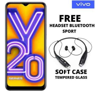 harga Vivo Y20 3-64 GB Free Headset Bluetooth Sport Hitam Blibli.com