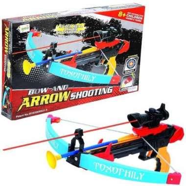 harga Mainan Anak Laki Laki Crossbow Set - Memanah Panah Panahan Tembakan DMB070913 Blibli.com