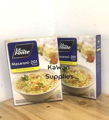 harga La Fonte Macaroni 201 [225gr] Blibli.com