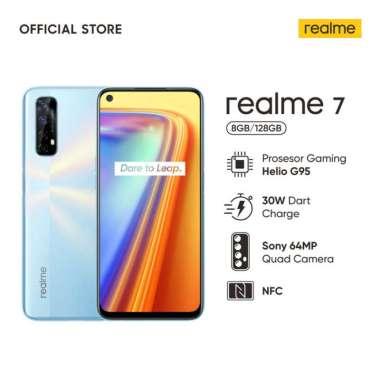 Realme 7 Smartphone 8GB/128GB White