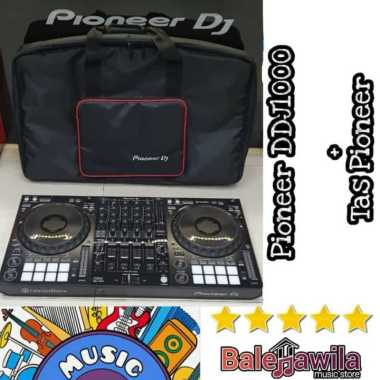 harga DJ Controller Pioneer Dj DDJ1000 DDJ 1000 ORIGINAL Pioneer DJ DDJ-1000 4-Channel Rekordbox Dj Controller ORIGINAL Garansi Resmi hitam Blibli.com