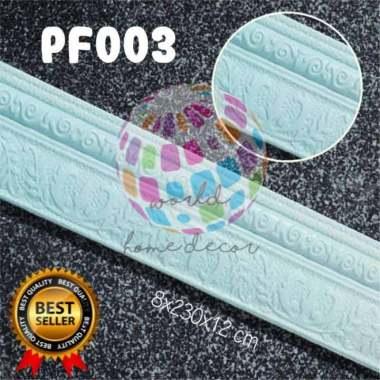 LIST PROFIL WALLPAPER TERMURAH FOAM 3D BORDER 001 Biru