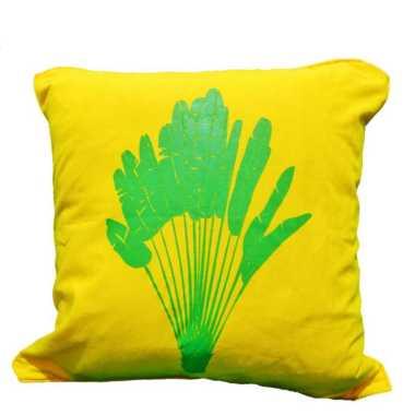 harga Sarung Bantal Sofa 40x40 Quotes Aneka Warna Motif Daun Pisang 7 Kuning Blibli.com