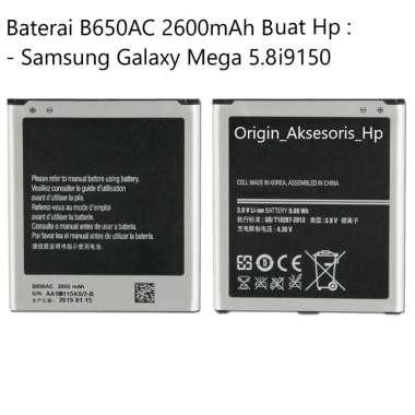 harga Original Baterai B650AC Buat Handphone Samsung Galaxy Mega 5.8 i9150 Blibli.com