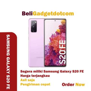 SAMSUNG GALAXY S20 FE 8/128GB CLOUD NAVY RESMI