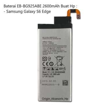harga Original Baterai EB-BG925ABE Buat Handphone Samsung Galaxy S6 Edge Blibli.com