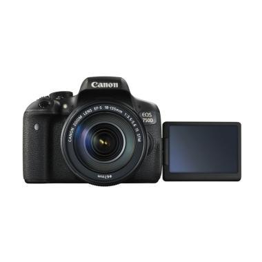 Canon EOS 750D Kit with Lens 18-135mm STM WiFi Kamera DSLR - Black