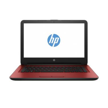 HP 14-am017tx Notebook - Merah [4 GB/AMD Radeon R5/2.3 GHz/14 Inch]
