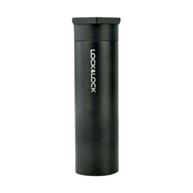 LOCK & LOCK Hot & Cool Hero Tumbler - Black [400 mL]