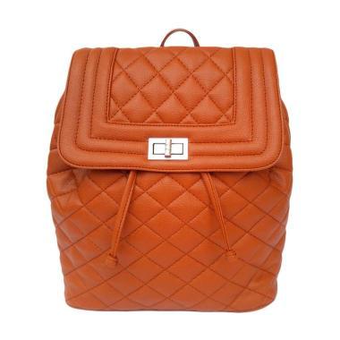 Baglis Violet Backpack Ransel Wanita - Coklat