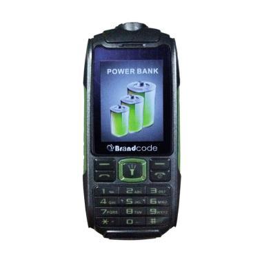 Brandcode B329 Handphone - Hijau [5800 mAh]