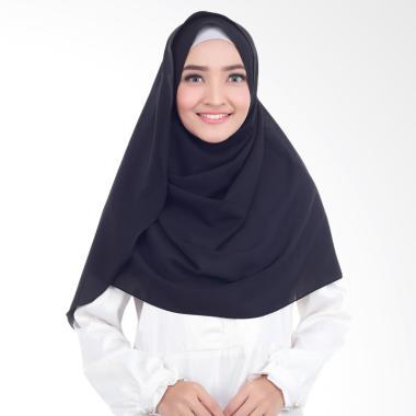 Cotton Bee Syakilla Hijab Instant / Pashmina Instan - Black