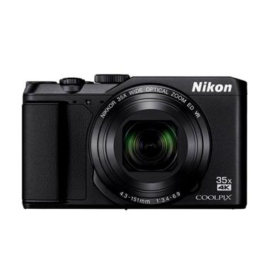 Nikon Coolpix A900 Kamera Pocket - Black + Free LCD Screen Guard