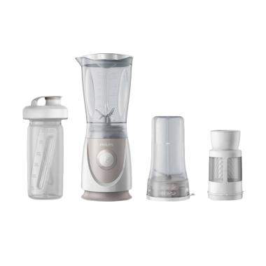 Philips HR 2874 Mini Blender - Putih Silver