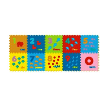 Evamats Puzzle Angka Gambar Mainan Anak