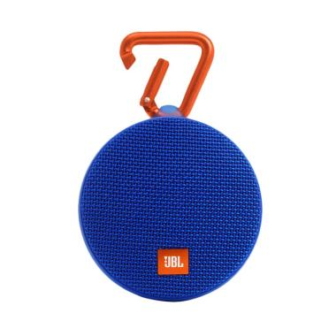 AEON - JBL Clip 2 Waterproof Bluetooth Speaker - Biru