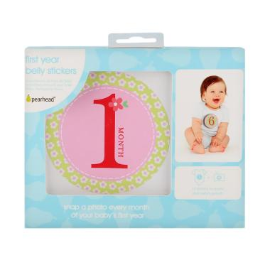 Pearhead PH60031 Girl Baby Milestone Stickers