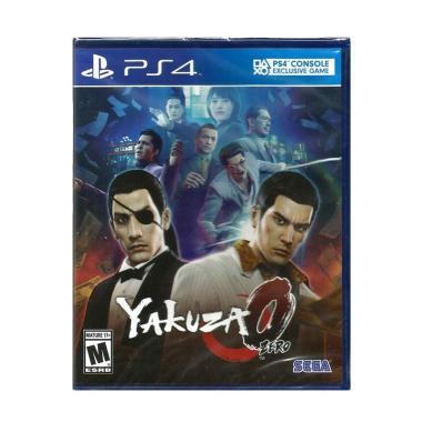 SONY PlayStation 4 Yakuza 0 Zero DVD Game