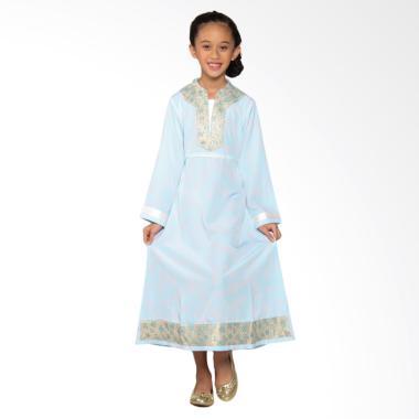 Versail Kids Juenes Pr 1034 Gamis Anak Perempuan - Corak Blue