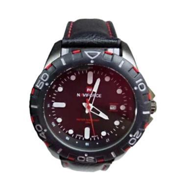 Naviforce Nf 953 Jam Tangan Pria - Hitam Merah
