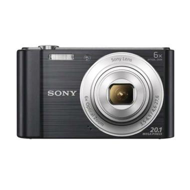 Sony Cyber-shot DSC-W810 Kamera Pocket - Hitam
