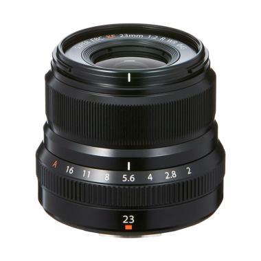 Fujifilm Fujinon XF 23mm f/2 R WR Lensa Kamera - Black