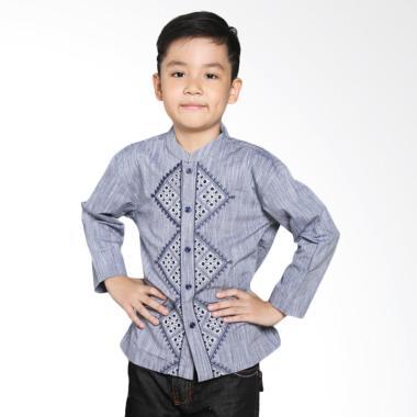 Intresse KD-1300378-BL Softly Baju Koko Anak - Blue